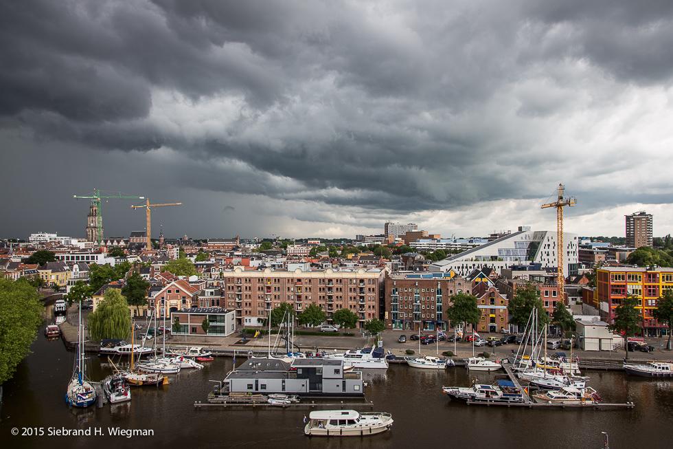 Onweer boven Groningen-7266