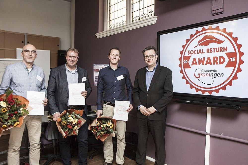 Uitreiking social return awards